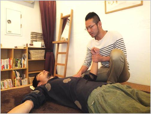 腕・肩の施術