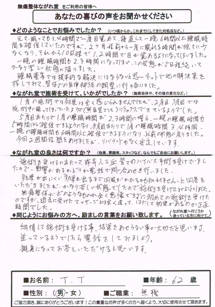 不眠・京都自律神経ながれ堂